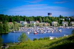 Городской пейзаж Lappeenranta Стоковое Изображение RF