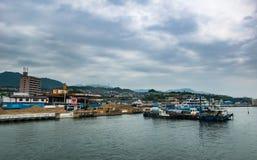 Городской пейзаж Miyajimaguchi Стоковые Фото