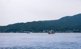 Городской пейзаж Miyajimaguchi Стоковое Фото