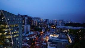 Городской пейзаж, Orchard02 Стоковая Фотография