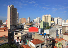Городской пейзаж Sorocaba стоковое фото rf