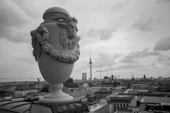 Городской пейзаж sw Берлина Германии Стоковое Изображение