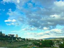 Городской пейзаж Yahsihan Yahsihan городок и район провинции Kırıkkale в центральном Anat Стоковые Изображения RF