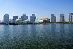Городской пейзаж Zhengzhou стоковая фотография rf