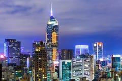 Городской район в Гонконге стоковые фото