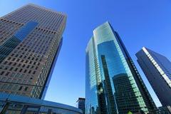 Городской район корпоративного бизнеса стоковая фотография rf