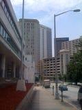Городской тротуар Атланта Стоковая Фотография