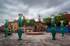 Городской центр Warrington Стоковая Фотография RF