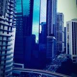 городской miami стоковое фото rf
