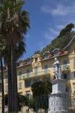 Город славного - Cote d'Azur - юга франция. Стоковое фото RF