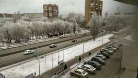 Город снега Стоковая Фотография