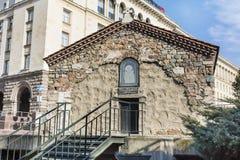 Город Софии †церков  St Petka Samardzhiyska†« Стоковое Изображение