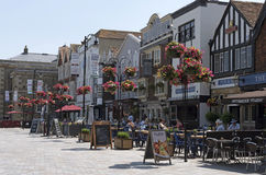 Город Солсбери Уилтшира Англии Великобритании стоковое фото rf