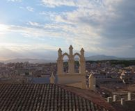 город средневековый Стоковая Фотография RF