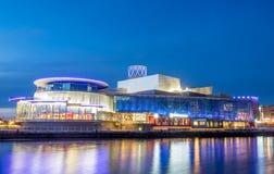 Город средств массовой информации BBC в Манчестере Стоковое Изображение
