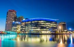 Город средств массовой информации BBC в Манчестере Стоковые Изображения RF