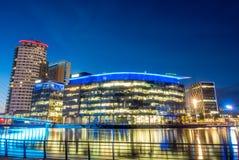 Город средств массовой информации BBC в Манчестере Стоковые Фото