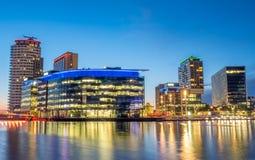Город средств массовой информации BBC в Манчестере Стоковое фото RF