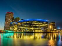 Город средств массовой информации BBC в Манчестере Стоковое Фото