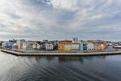 Город Ставангера в Норвегии Стоковое фото RF