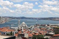 Город Стамбула в Турции Стоковые Фотографии RF
