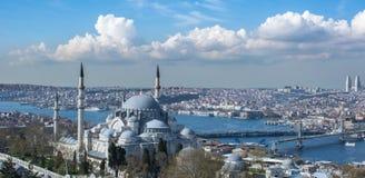 Город Стамбула Стоковые Фото