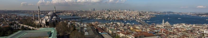 Город Стамбула Стоковое Изображение