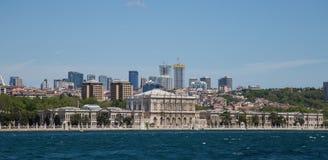 Город Стамбула Стоковое Фото
