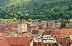 город старая Румыния brasov разбивочный Стоковые Фотографии RF