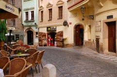город старый prague Стоковое Фото