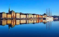 Город Стокгольма стоковые фото