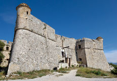 Город славного - Форт du Mont Alban Стоковое Изображение RF