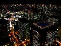 Город токио на ноче 2 Стоковые Изображения RF