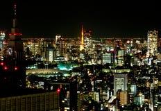Город токио на ноче 3 Стоковое фото RF