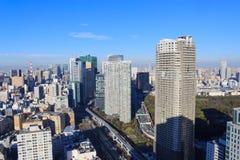 Город токио, небоскреба на Shinagawa Стоковая Фотография