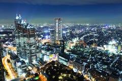 Город токио стоковое изображение