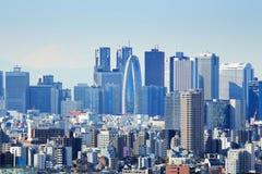 Город токио стоковое фото rf