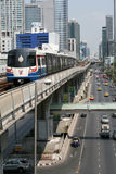 Город & транспорт Бангкока Стоковая Фотография
