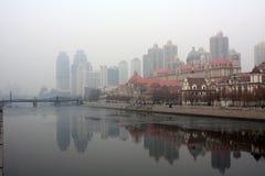 Город Тяньцзиня Стоковое Изображение RF
