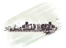 город урбанский Стоковые Фотографии RF