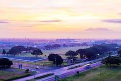 Город Филиппины Анджелеса Стоковая Фотография RF