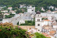 город Хорватия dubrovnik старый Стоковая Фотография RF