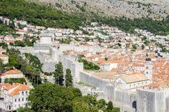 город Хорватия dubrovnik старый Стоковое фото RF