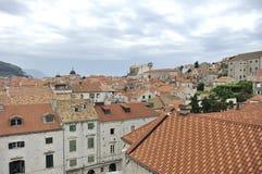 город Хорватия dubrovnik старый Стоковые Изображения