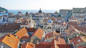 город Хорватия dubrovnik старый Стоковая Фотография