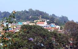 Город холма Стоковое Изображение