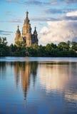 город церков около st petersburg русского s peterhof Паыля peter Стоковые Фотографии RF