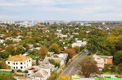 Город Чернигов в осени Стоковые Изображения RF