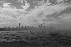 Город Чикаго в Иллинойсе Стоковые Изображения RF