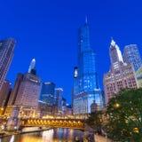 Город Чикаго Стоковое Изображение